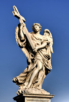 Angel with the Cross, Rome, Italy